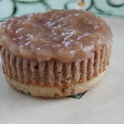 German Chocolate Cheesecake Tarts recipe