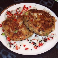 Crab Cakes With Spicy Thai Sauce recipe