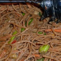 Asian Noodle Salad Quick and Easy Version recipe
