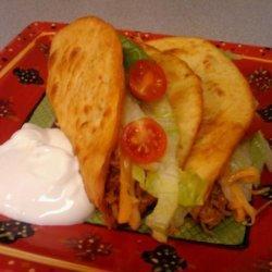 Chicken Puffy Tacos recipe