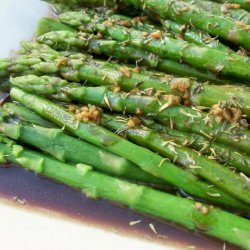 Asparagus With Lemon Browned Butter Sauce recipe