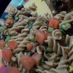 Mediterranean Fusilli Pasta Salad recipe