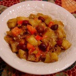 Aubergine or Eggplant Salad recipe