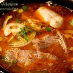 Bun Bo Hue (Spicy Hue Style Noodle Soup With Lemongrass) recipe