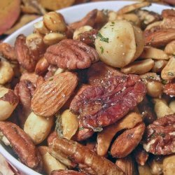 Wine Bar Nut Mix recipe