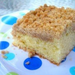 Crumb Top Coffee Cake recipe