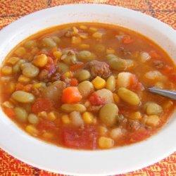 Simple Hamburger Vegetable Soup recipe