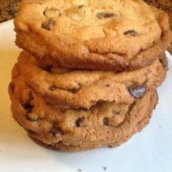 Giant Crisp Chocolate Chip Cookies recipe