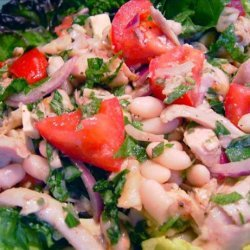 Roasted Chicken and Cannellini Bean Salad recipe