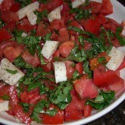 Tomato and Fresh Mozzarella Salad With Basil recipe