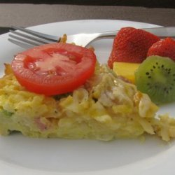 Breakfast Casserole Denver Style recipe