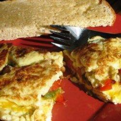 Veggie Omelet for One recipe