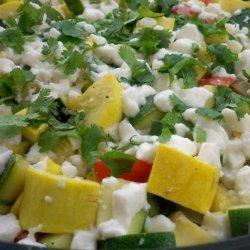Rainbow Veggie Cheese Lovers recipe