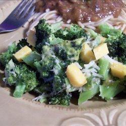 Cheesy Broccoli Toss recipe