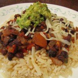 Super Quick Black Beans and Rice recipe