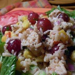 Fruity Chicken & Rice Salad recipe