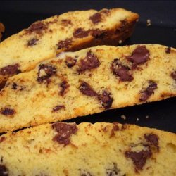 Chocolate Anise Cookies Biscotti recipe