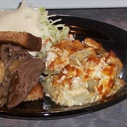 Easy Potato Onion Supreme recipe