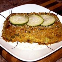 Hazelnut and Courgette (Zucchini) Bake recipe