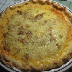 Savoury Cheeseburger Onion Pie recipe
