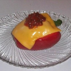 Stuffed Red Bell Peppers With Tuna recipe