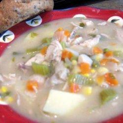 Chicken & Dumplings (Or Easy Chicken Stew - Minus the Dumpli recipe