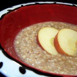 Apple Pie Porridge 2007 recipe