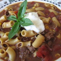 Hearty and Delicious Beefy Chili  Soup recipe
