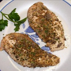 Herb Crusted Chicken Breasts recipe