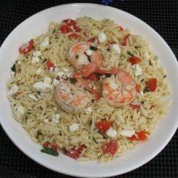 Orzo Pasta With Shrimp recipe