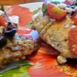 Greek Chicken Cutlets recipe