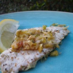 Cod With Peppercorns and Leeks (Ww 5 Points Plus) recipe
