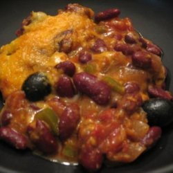 Easy Kidney Bean  and Cheese Casserole recipe
