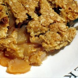 Apples With Crunchy Topping recipe