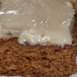 Carrot Bars W/ Cream Cheese Frosting recipe