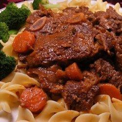 French Influenced Braised Beef Short Ribs recipe