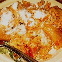Sylvie's Easy Peasy Pasta Bake for 2 recipe