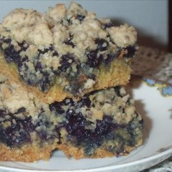Blueberry Oat Squares recipe