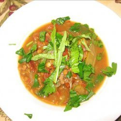 Moroccan Lentil & Vegetable Soup recipe