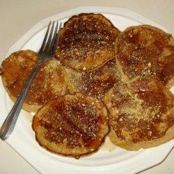 Whole Wheat Graham Cracker Pancakes recipe