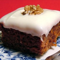 Carrot Apple Cake recipe