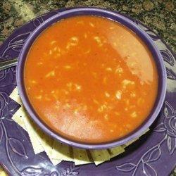 Tomato Noodle Soup recipe