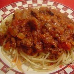 Ed Spaghetti recipe