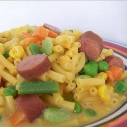 Krafty Dinner - Mac, Cheese & Veggies recipe