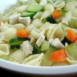 Chicken and Zucchini Soup recipe