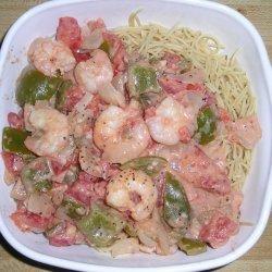 Pasta Shrimp Toss recipe