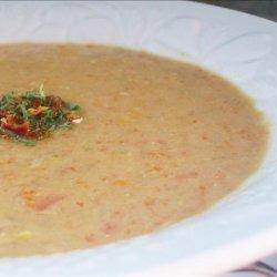 Creamy Corn and Turkey Soup recipe