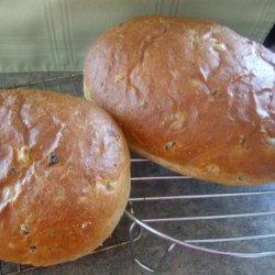Olive Bread For The Bread Machine