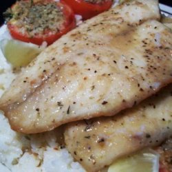 Lemon Herb Fish Fillets recipe
