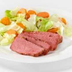 Crock Pot Corned Beef & Cabbage recipe